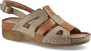 Sandały Pollonus z klamrami