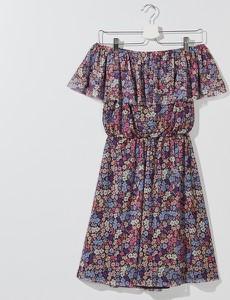 Sukienka Mohito mini hiszpanka z krótkim rękawem