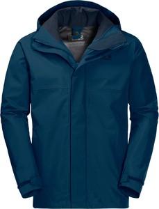 Niebieska kurtka Autoryzowany Sklep Jack Wolfskin