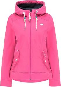 Różowa kurtka Schmuddelwedda w stylu casual krótka