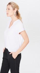 Bluzka Mohito z dekoltem w kształcie litery v z krótkim rękawem