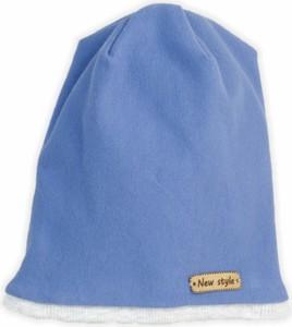 Niebieska czapka Nicol