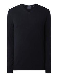 Granatowy sweter Christian Berg Men w stylu casual