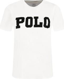 T-shirt POLO RALPH LAUREN w młodzieżowym stylu z krótkim rękawem z okrągłym dekoltem