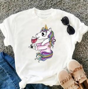 T-shirt Time For Fashion z bawełny z nadrukiem z okrągłym dekoltem