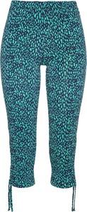 Niebieskie legginsy bonprix bpc selection w stylu casual