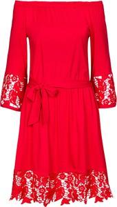 Sukienka Grandio z długim rękawem z tkaniny