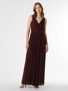 Czerwona sukienka Laona na ramiączkach maxi
