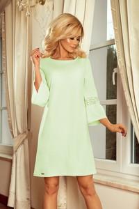 68b1f82731 zielona sukienka z koronki - stylowo i modnie z Allani