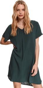 Sukienka Top Secret w stylu casual koszulowa z krótkim rękawem