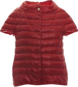 Czerwona kurtka Herno