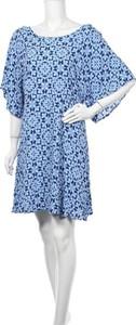 Niebieska sukienka Sportsgirl z okrągłym dekoltem mini