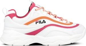 Buty sportowe Fila sznurowane z płaską podeszwą