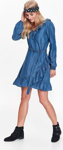 Niebieska sukienka Top Secret mini
