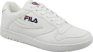 Buty sportowe Fila sznurowane ze skóry