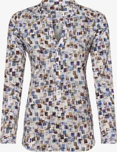 Bluzka Emily van den Bergh z dekoltem w kształcie litery v z długim rękawem