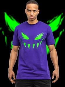 Fioletowy t-shirt Bor