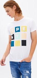 T-shirt Gate z nadrukiem z bawełny