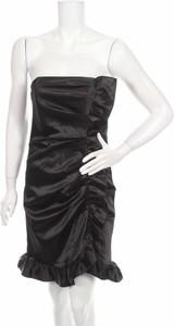 Czarna sukienka Onyx Nite bez rękawów mini