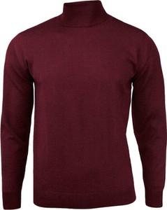 Czerwony sweter Mm Classic z wełny