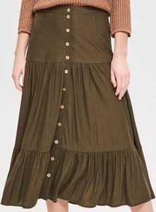 Zielona spódnica Reserved midi