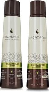 Macadamia Weightless Moisture Zestaw nawilżający do włosów cienkich | Szampon 300ml + Odżywka 300ml - Wysyłka w 24H!