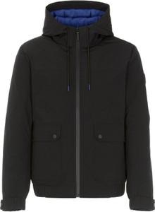 Czarna kurtka Ochnik w stylu casual z tkaniny
