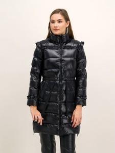 Czarny płaszcz Twinset