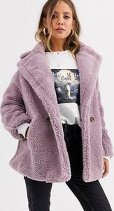 Fioletowy płaszcz Qed London
