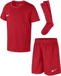 Czerwony komplet dziecięcy Nike