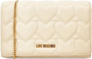 Torebka Love Moschino na ramię ze skóry