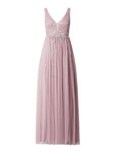 Sukienka V.m. na ramiączkach z tiulu