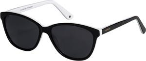 Czarne okulary damskie Vermari