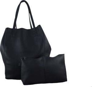 Czarna torebka TrendyTorebki do ręki matowa