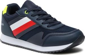 Buty sportowe dziecięce Tommy Hilfiger dla chłopców sznurowane