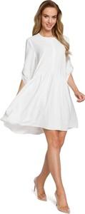 Sukienka Merg oversize z długim rękawem