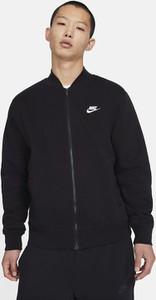 Czarna bluza Nike z tkaniny