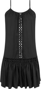Czarna sukienka bonprix RAINBOW mini