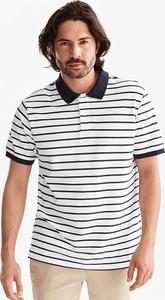Koszulka polo ANGELO LITRICO w stylu casual z bawełny