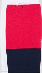 Spódniczka dziewczęca Tommy Hilfiger z bawełny