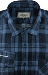 Koszula Pradizo w stylu casual z tkaniny z długim rękawem