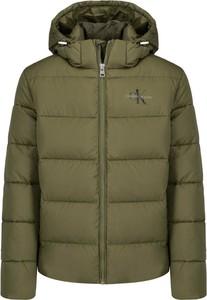 Zielona kurtka Calvin Klein