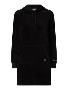 Czarna sukienka Calvin Klein ze sztruksu