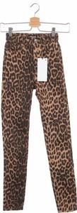 Brązowe jeansy Zara Trafaluc
