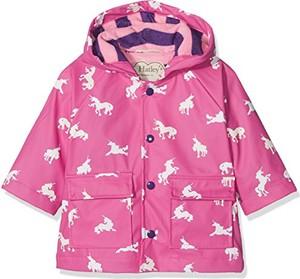 Różowa kurtka dziecięca Hatley