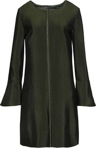 Zielona sukienka HEXELINE mini z okrągłym dekoltem w stylu casual