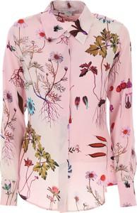 Różowa koszula Stella McCartney z długim rękawem