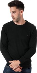 Czarny sweter Diesel w stylu casual z wełny
