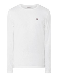 Koszulka z długim rękawem Napapijri z długim rękawem z bawełny