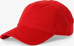 Czerwona czapka Lacoste